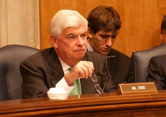 Senator Dodd asks David Kotz about status of the Walter Poirier III investigation