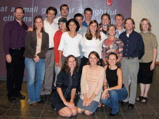 Shriver Peaceworkers Celebrate 12 Years of Thinking Globally, Acting Locally