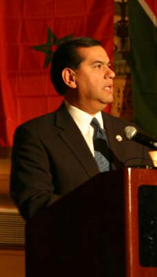 Vasquez said to be Bush's pick for next ambassador  to FAO replacing Tony Hall