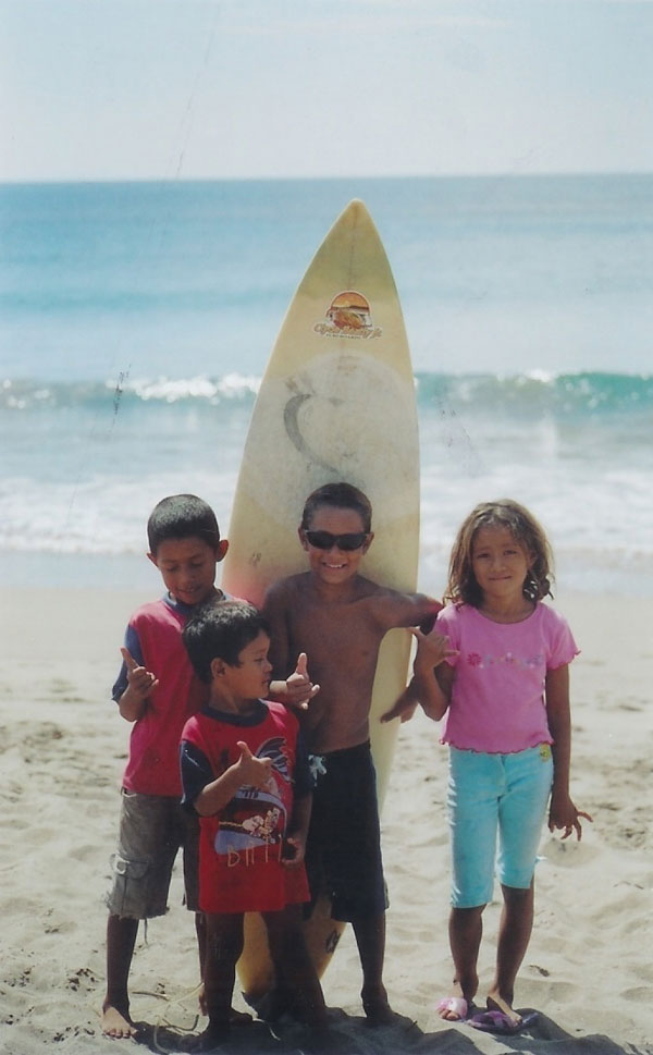 Honduras RPCV Nick Mucha  founded Project Wave of Optimism, a 501c3 nonprofit foundation, dedicated to promoting sustainable community development in Latin America surf destinations