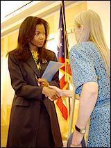 Oman RPCV Gina Abercrombie-Winstanley is top diplomat in Saudi Arabia