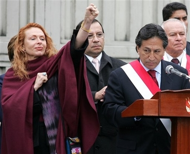 She was the admired wife of Peruvian President Alejandro Toledo then cracks began to appear in Eliane Karp-Toledo�s perfect life