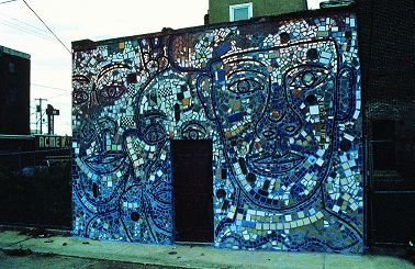 Peru RPCV Isaiah Zagar says Philadelphia is the center of the art world! and sets out to prove it by turning the town itself into a work of art