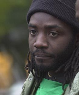 Sierra Leone RPCV Alrick Brown, 28, is a documentary film maker