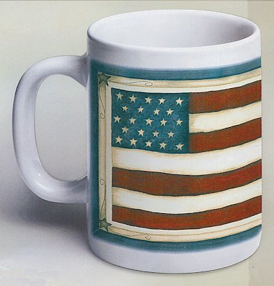 Tunisia RPCV Al Kamen says America is Working coffee mugs made in China