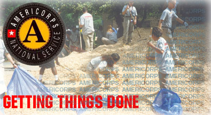 �I was looking for different volunteer opportunities,� said Kevin Jenkins. �At first, I was looking at the Peace Corps, but their application process was too difficult. I went to AmeriCorps and I found the City Year program.�