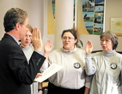 Local Americorps sworn in