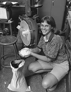 Inventor and instructor Amy Smith at the Massachusetts Institute of Technology hops over to remote African towns and Latin American villages
