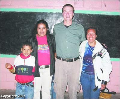 Andrew Barrett is a Peace Corps Volunteer in Honduras