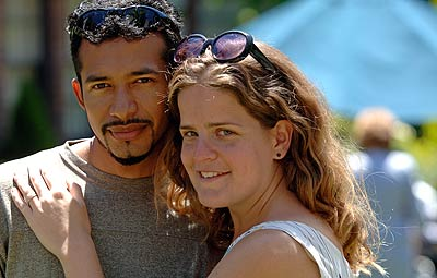 Anat Shenker met her husband, Donaldo Osorio,  while on assignment in Honduras for the Peace Corps