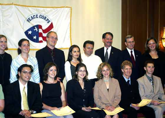 Swearing-In Ceremony Held for Peace Corps Armenia Volunteers in Armenia