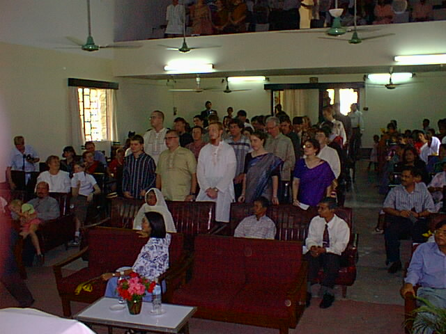 Second group of Bangladesh Peace Corps Volunteers at their swearing-in ceremony