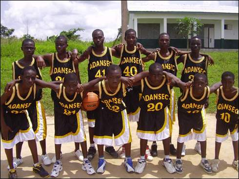Patrick Choquette has been teaching science and basketball at a school at a rural community, Assin Darmang in Ghana