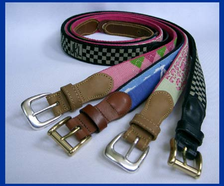Peter Kwasniewski just launched Peter K Designs, an online business retailing designer belts and dog collars, which are hand-stitched by Armenian women from the village of Noembrayan, in the country's northeast corner. The unusual partnership was conceived after Peter and his wife Stephanie returned from a two-year stint in Armenia with the Peace Corps.