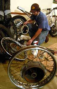 Malawi RPCV Garry Prime helps rebuild motorcycles for  ��Motorcycles for Africa'' project