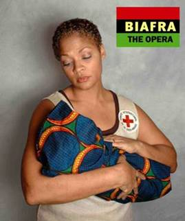 Nigeria RPCV John Sherman writes libretto for brand-new opera, Biafra, to be presented at the Artsgarden in downtown Indianapolis at 7pm on Wednesday, December 6