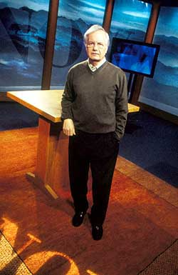 Broadcast journalist Bill Moyers is 70
