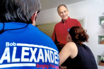 India RPCV Bob Alexander in race for Democratic nomination for Michigan's 8th District