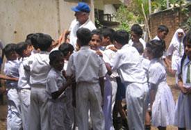 Colombia RPCV Bob Loew works in Tsunami Relief in Sri Lanka