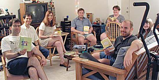 Ugly Fishermen, a book club I visited the other night comprised largely of former peace corps volunteers in their 20s and 30s that was stocked with more conviction, consciousness and thoughtful self-examination than I ordinarily encounter in a whole month