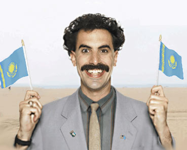 Kazakhstan RPCV Bob Kellett says: I wish Borat would have chosen a fictional place instead of giving a bad name to a country that doesn�t deserve it