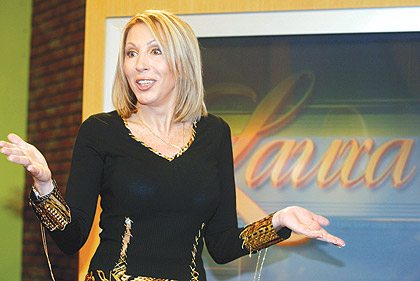 Peruvian talk-show host Laura Bozzo claims that former President Alejandro Toledo persecuted her for making unwelcome revelations about his private life