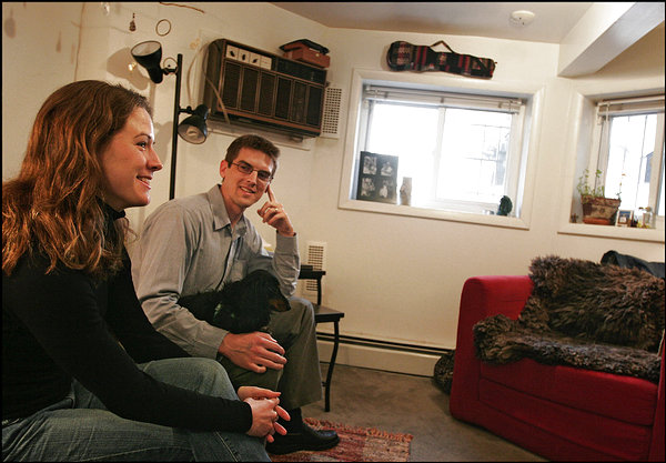 For the past four years, since returning from Peace Corps service in Armenia, Jennifer and Jeremy Haile called a 416-square-foot Georgetown studio home