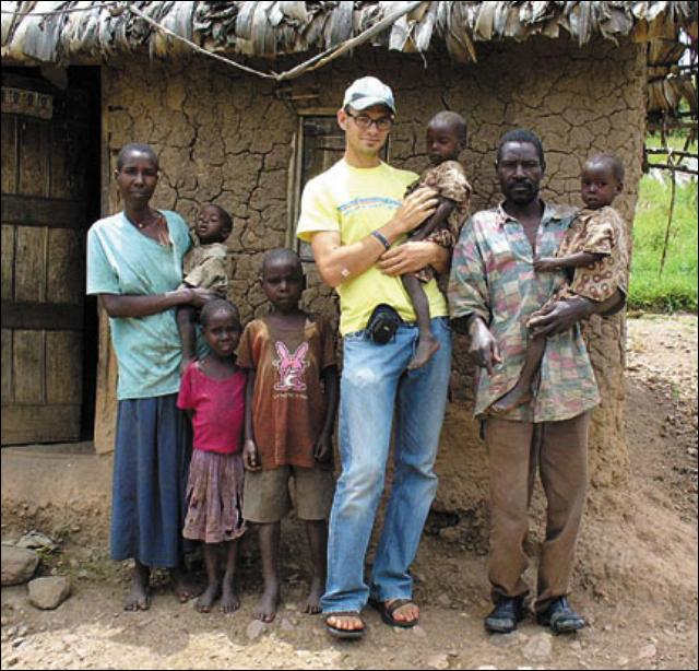 Brian Dunn is serving in the Peace Corps in Uganda
