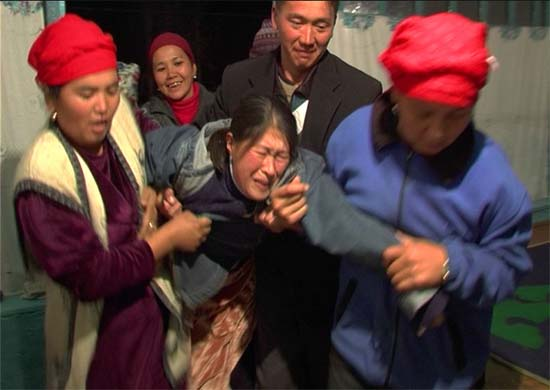 Journalist Petr Lom traveled to the mountains of Kyrgyzstan to examine the practice of bride kidnapping