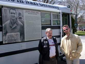 Czech Republic RPCV Michael Luick-Thrams'  Bus-eum impresses Kalona residents