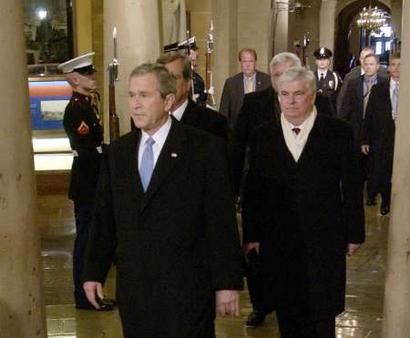 RPCV Senator Chris Dodd plays key role in Bush Inauguration