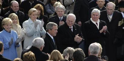 President Bush and RPCV Senator Chris Dodd