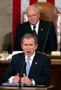 Bush's pledge to double the size of the Peace Corps was nothing more than hot air