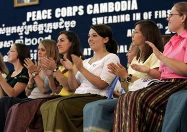 Peace Corps sends first ever mission to Cambodia
