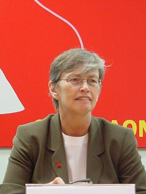 Peace Corps Director Carol Bellamy