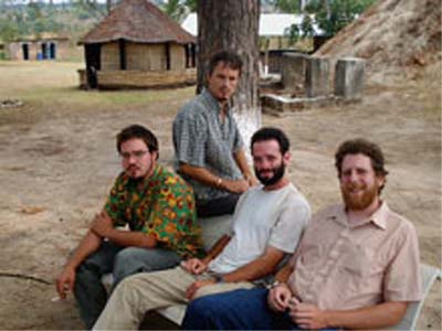 Chad Conaty returned home to Alexandria late last summer after spending two years in Zambia as a Peace Corps Volunteer