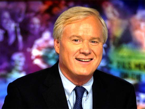 National Review says Chris Matthews gets a bad case of neoconitis