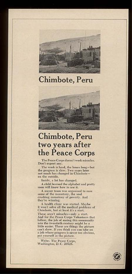 Chimbote, Peru two years after the Peace Corps