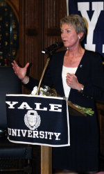 Samoa RPCV Chris Gobrecht named Coach of Women's Basketball at Yale University. Her husband Samoa RPCV Bob Gobrecht is the president and CEO of Special Olympics California