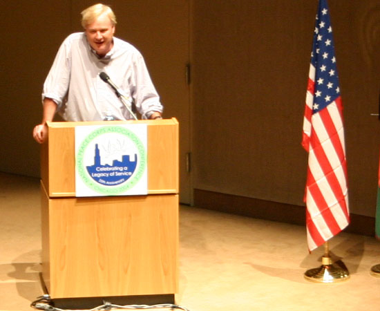 What RPCV Chris Matthews had to say at the Conference