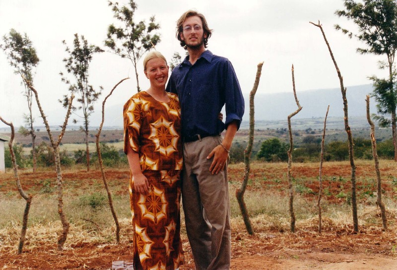 Colleen and Christian Hiner's Peace Corps service in Tanzania