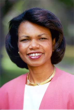 The frequency and location of Condoleezza Rice's speeches differ sharply from those before this election year -- and appear to break with the long-standing precedent that the national security adviser try to avoid overt involvement in the presidential campaign
