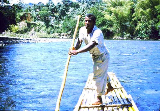 1996: Tom & Ann Tedrick served in Jamaica in Port Antonio beginning in 1996
