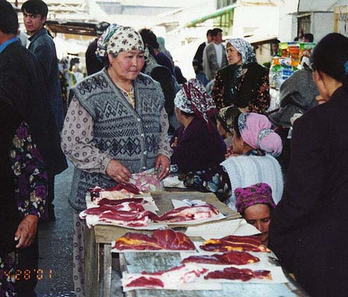 Erika Hunsicker in Kyrgyzstan