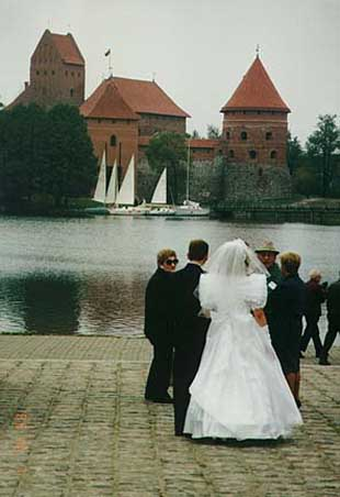 1994: Lisa Consani (Burrowes) served in Lithuania in Marijampole beginning in 1994