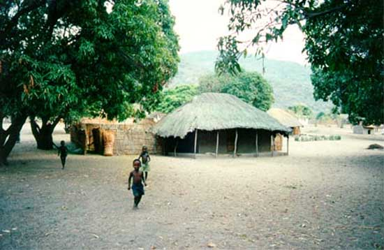 2000: Jeane Garcia served as a Peace Corps Volunteer in Malawi in Mlowe beginning in 2000