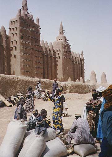 1983: Tim Ginnett served as a Peace Corps Volunteer in Mali in Bandiagara beginning in 1983