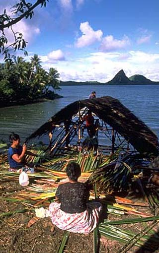 1981: Nadine Hyter Gamble served in Micronesia in Lela, Kosrae beginning in 1981