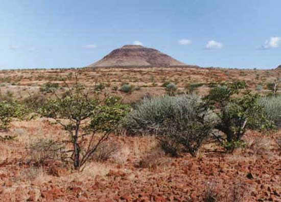 1998: Julie Maurin served in Namibia in Ombalantu beginning in 1998