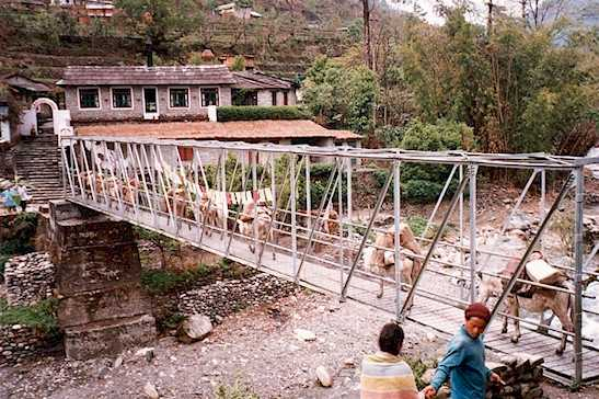 1991: Catherine Marzyck served in Nepal in Sallyan, Kaski District & Pokhara beginning in 1991